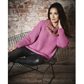 Lana Grossa PATENTPULLI MIT RAGLANBETONUNG Cool Wool Big