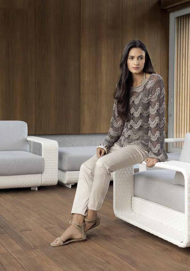 lana grossa pulli cotofine secondo filati no 43 sommer 2012 modell 10 filati. Black Bedroom Furniture Sets. Home Design Ideas