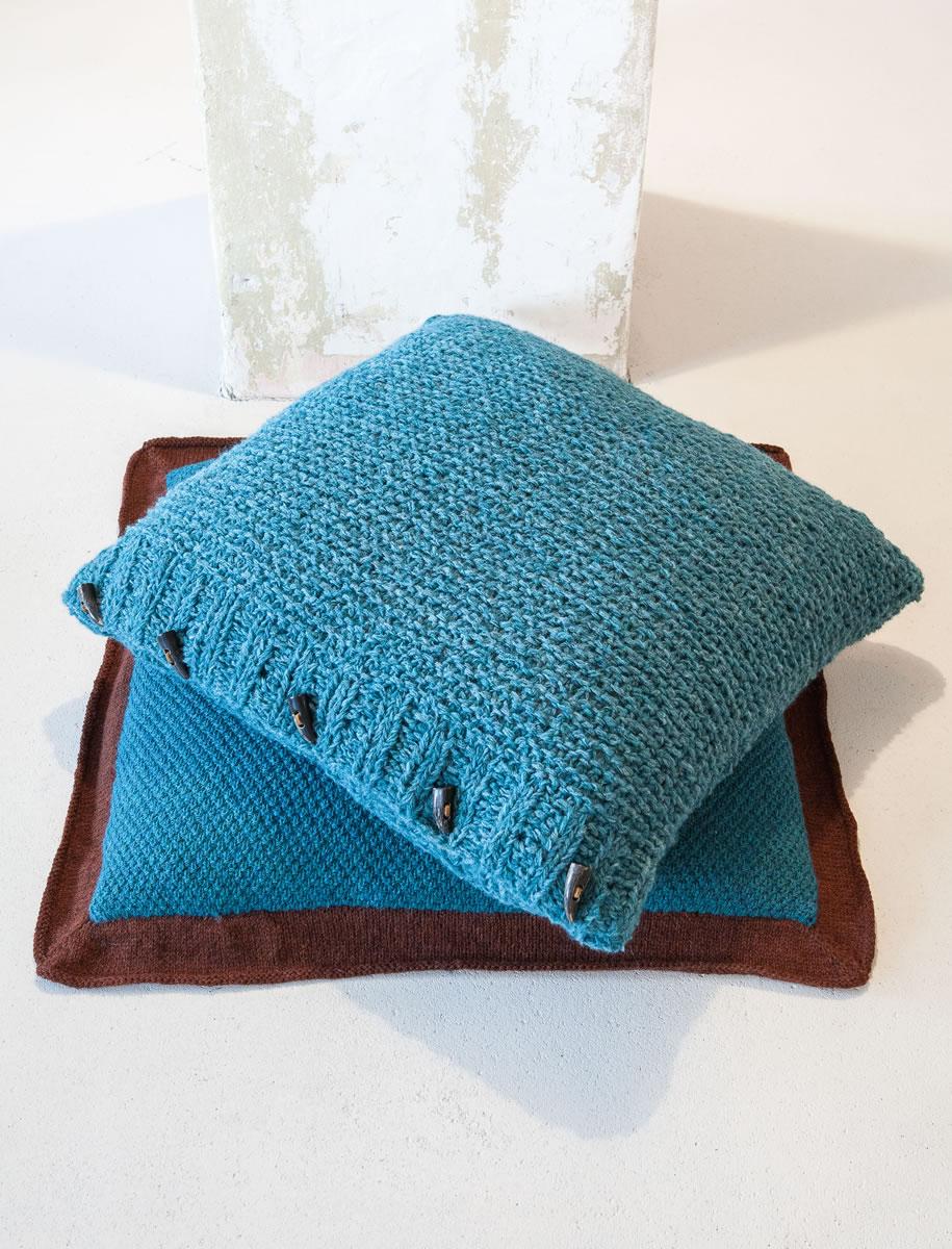 Вязание чехла для подушек
