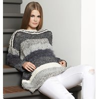 Lana Grossa PULLI IM MATERIALMIX Country/Soffilo/Bombolo/Peppina
