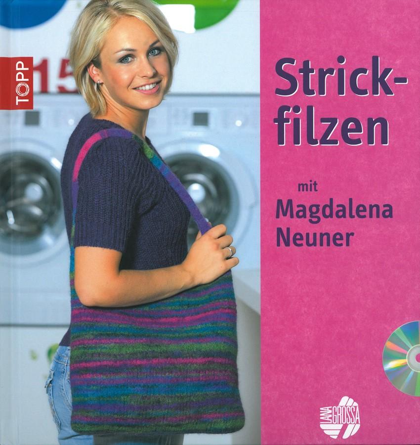Lana Grossa STRICKFILZEN - BUCH inkl. DVD