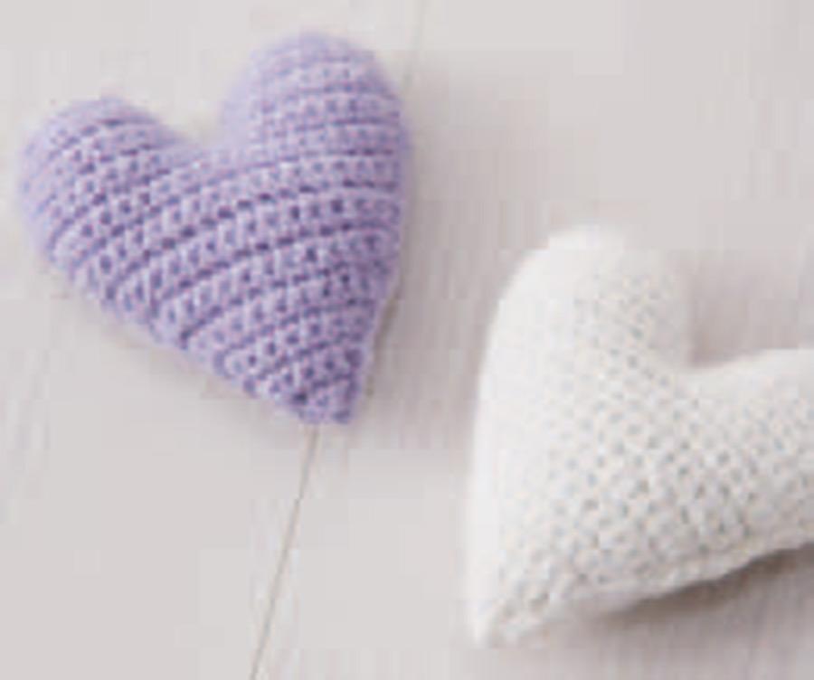 Lana Grossa Puppe Herzen Bälle Cool Wool Baby Filati Infanti