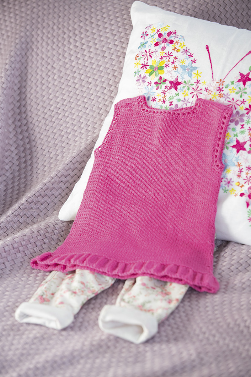lana grossa tunika cool wool baby filati kids babys no 3 modell 14 filati strickmodelle. Black Bedroom Furniture Sets. Home Design Ideas