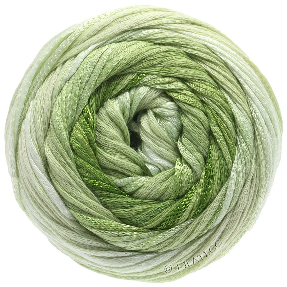 Lana Grossa ALLEGRO Degradé | 207-Natur/Zartgrün/Hellgrün/Blattgrün/Olivgrün