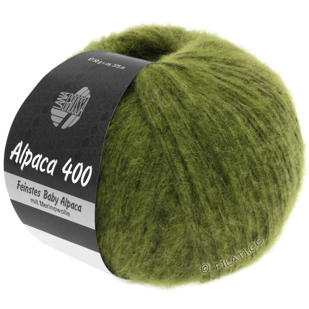 Lana Grossa ALPACA 400 | 11-Olivgrün