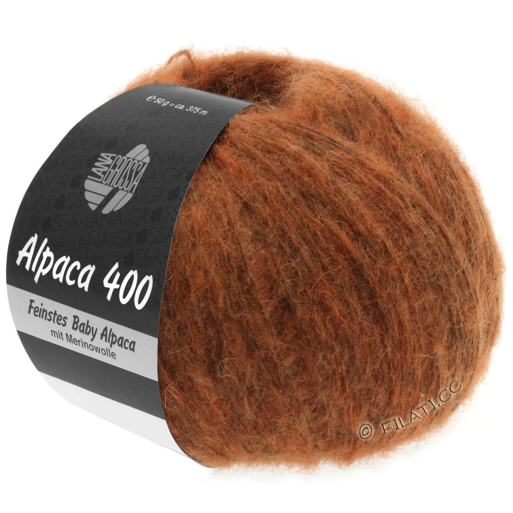 Lana Grossa ALPACA 400 | 17-Kupfer