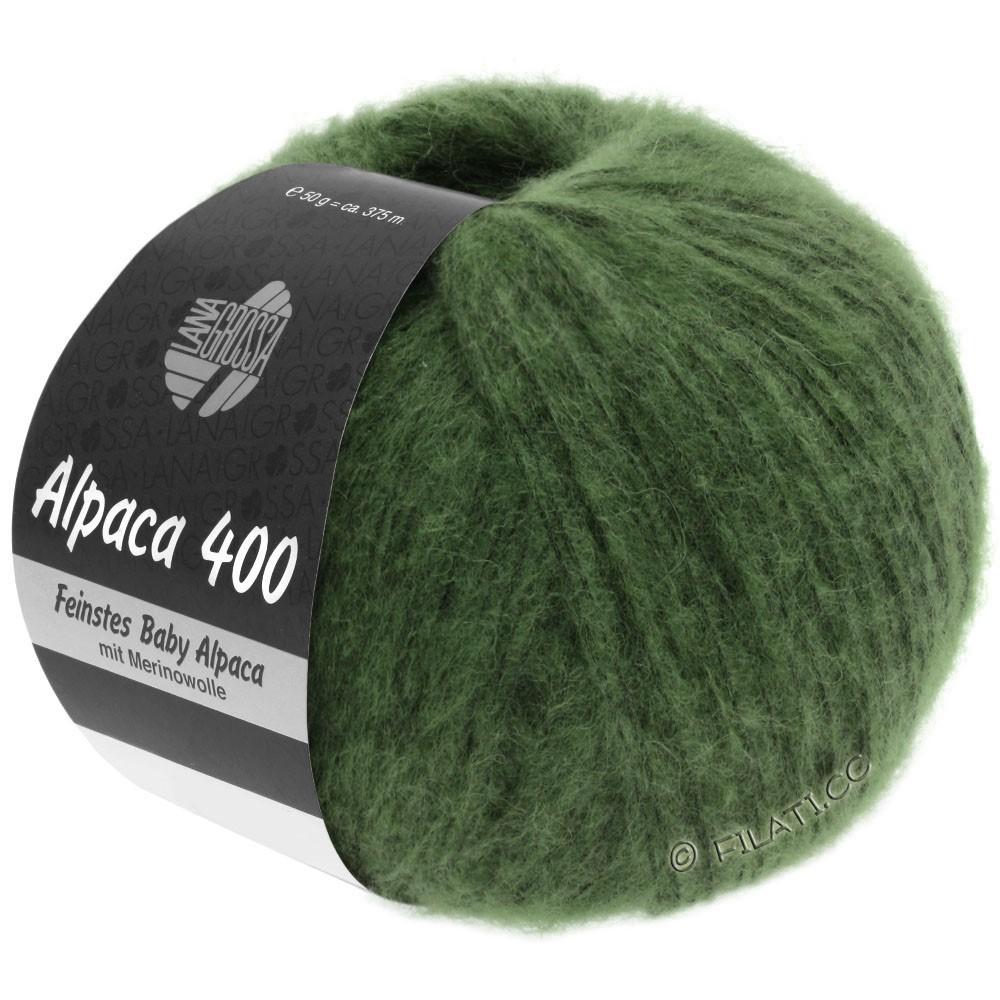 Lana Grossa ALPACA 400 | 19-Dunkelgrün