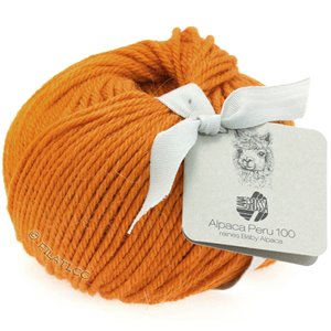 Lana Grossa ALPACA PERU 100 | 122-Orange