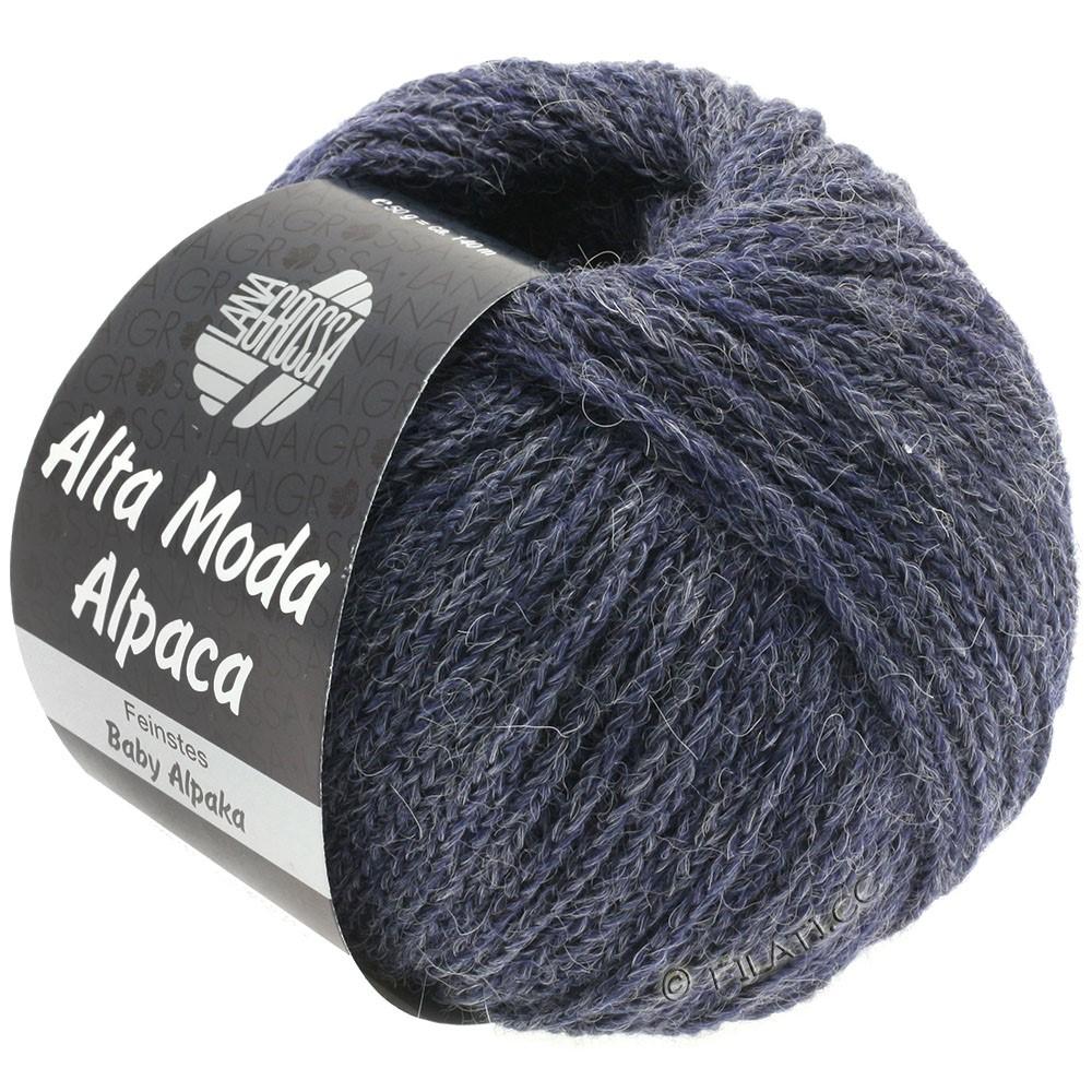 Lana Grossa ALTA MODA ALPACA | 52-Grauviolett meliert