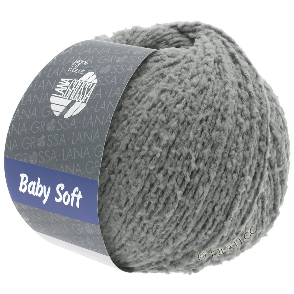 Lana Grossa BABY SOFT | 11-Dunkelgrau