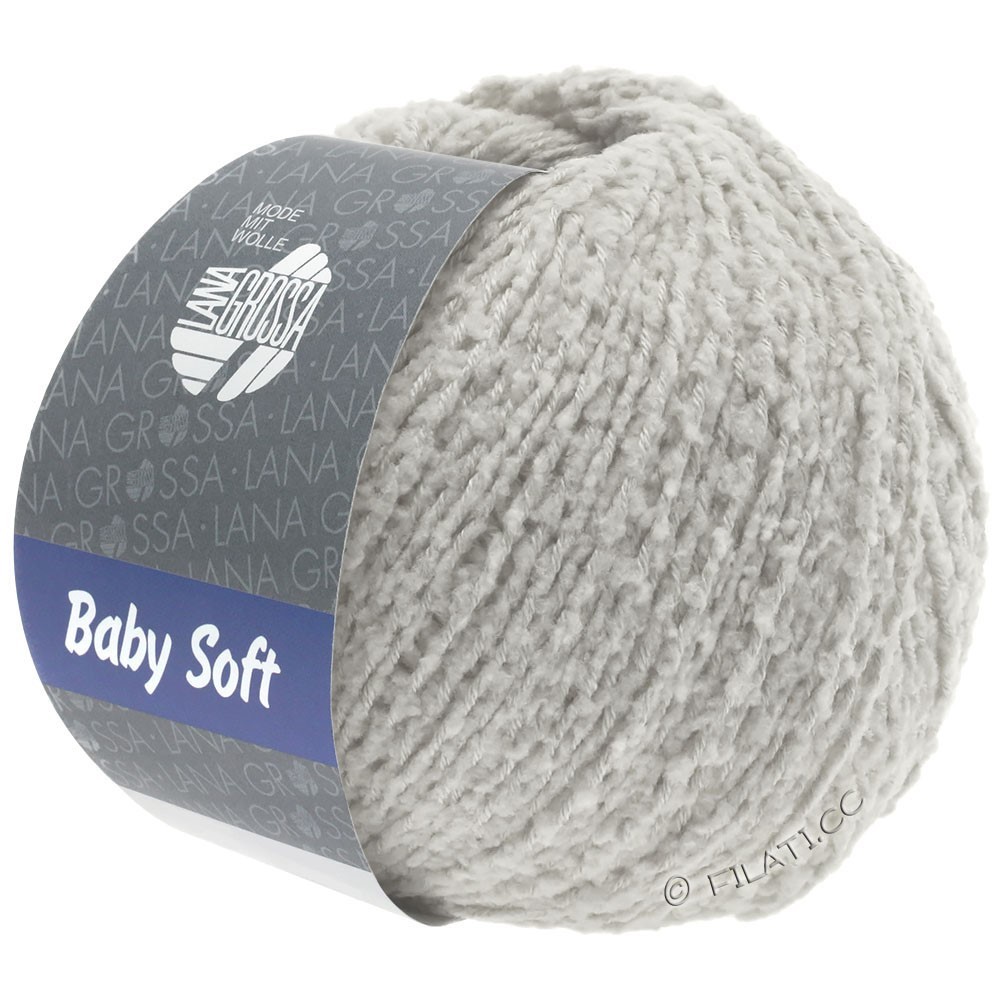 Lana Grossa BABY SOFT | 12-Blassgrau