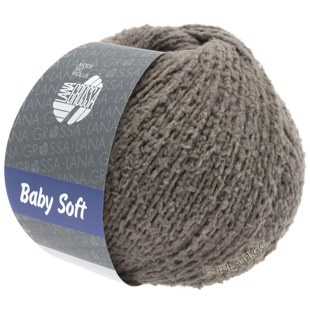 Lana Grossa BABY SOFT | 14-Graubraun
