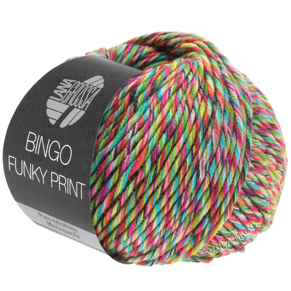 Lana Grossa BINGO Funky Print