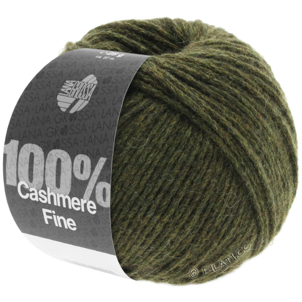 Lana Grossa 100% Cashmere Fine | 06-Loden
