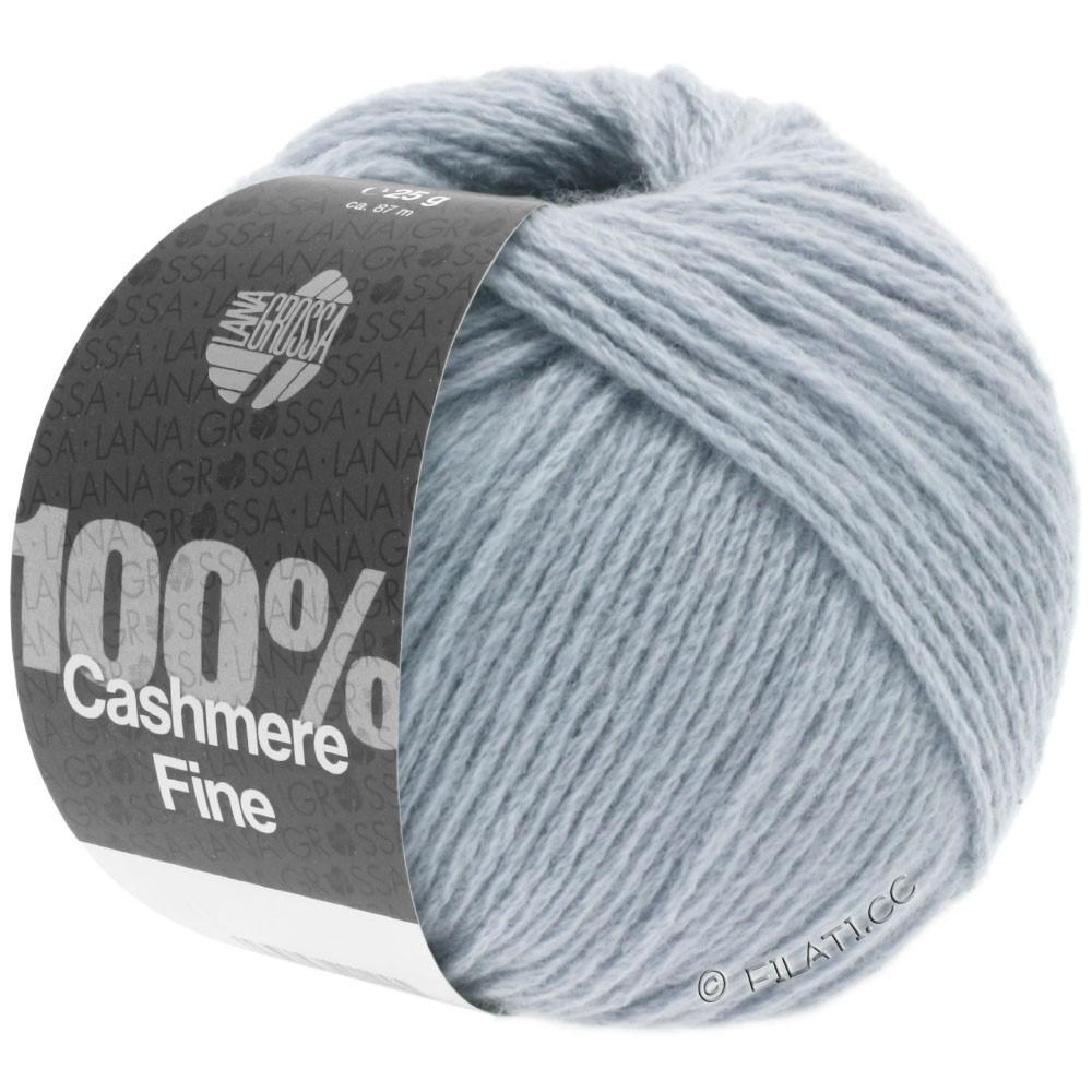 Lana Grossa 100% Cashmere Fine | 11-Graublau