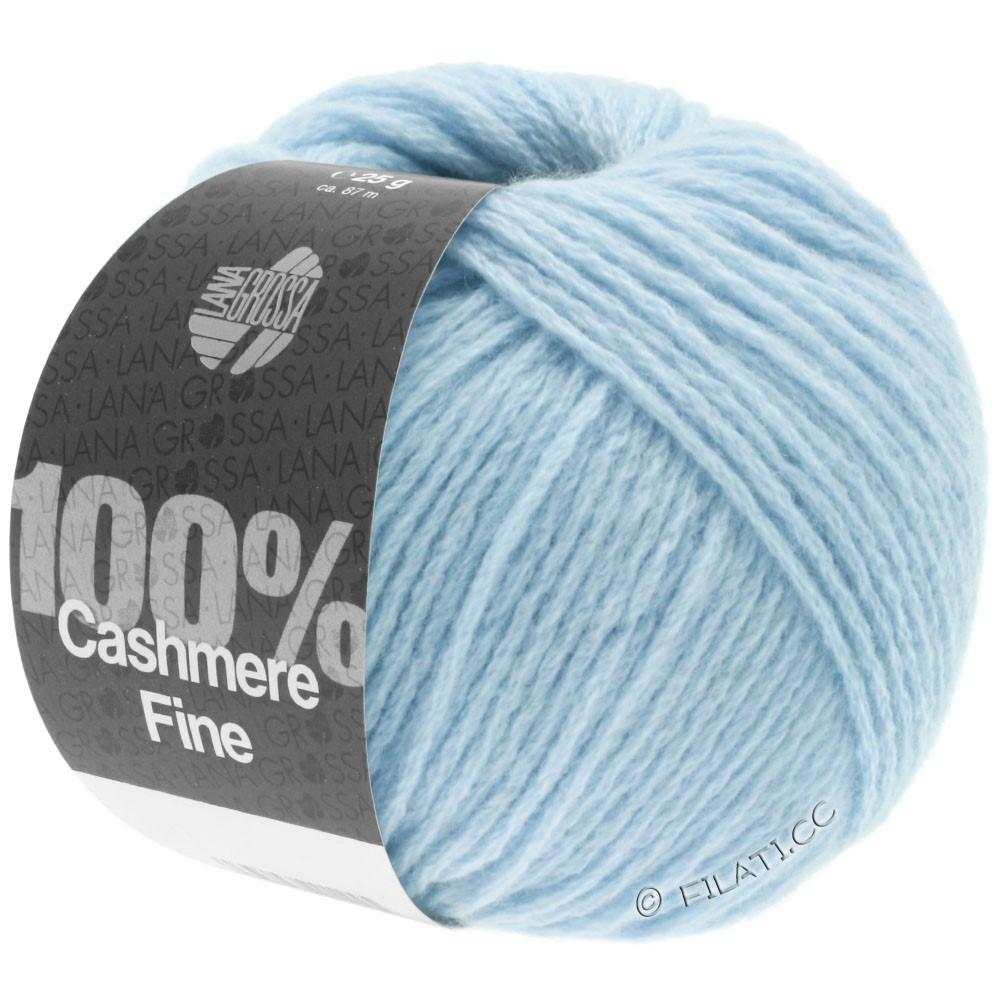 Lana Grossa 100% Cashmere Fine | 12-Hellblau