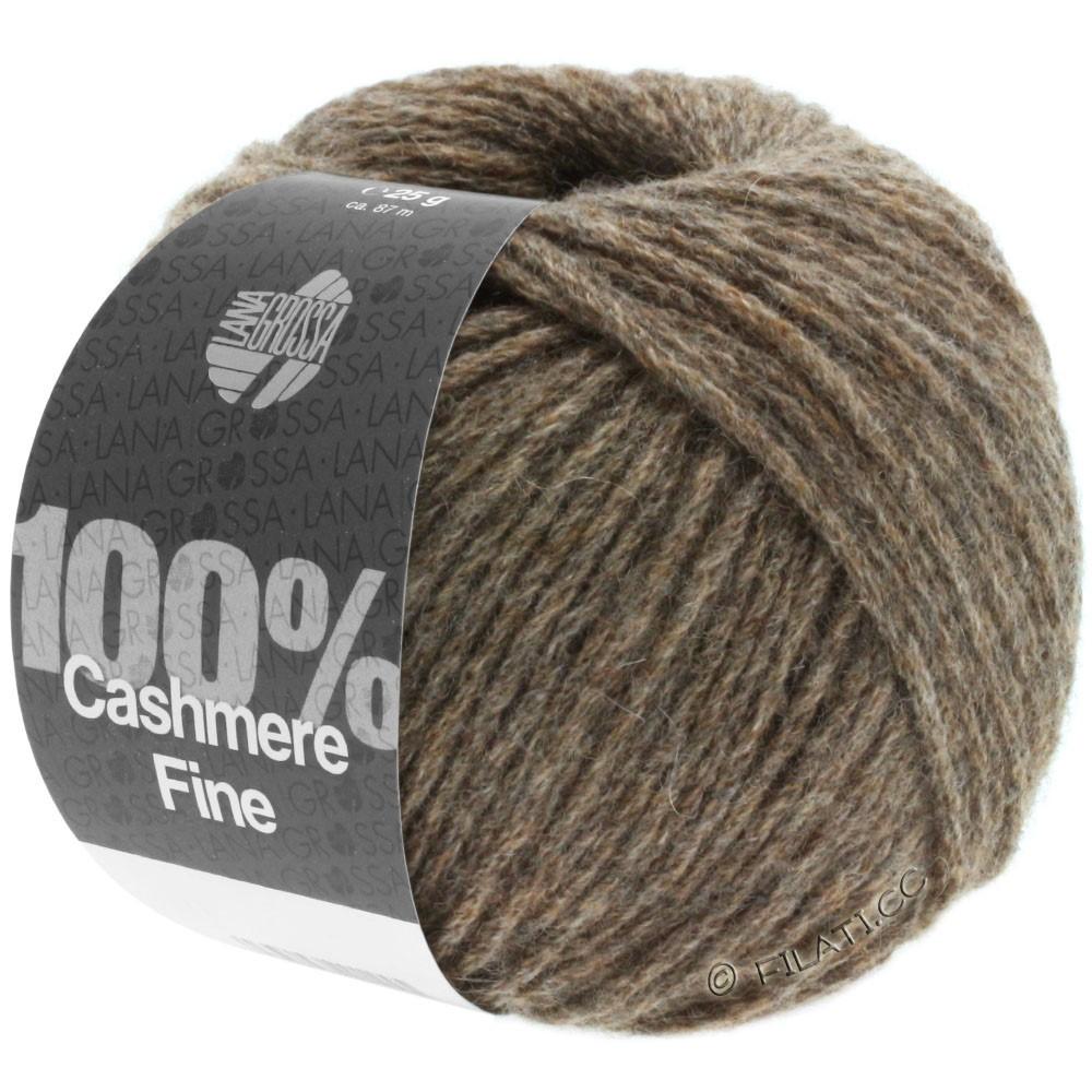 Lana Grossa 100% Cashmere Fine | 14-Graubraun