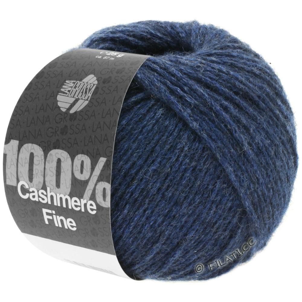 Lana Grossa 100% Cashmere Fine   18-Dunkelblau