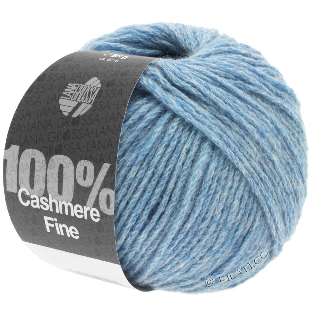 Lana Grossa 100% Cashmere Fine   19-Hellblau