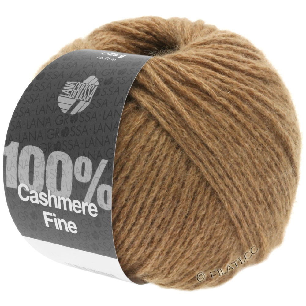 Lana Grossa 100% Cashmere Fine   20-Camel
