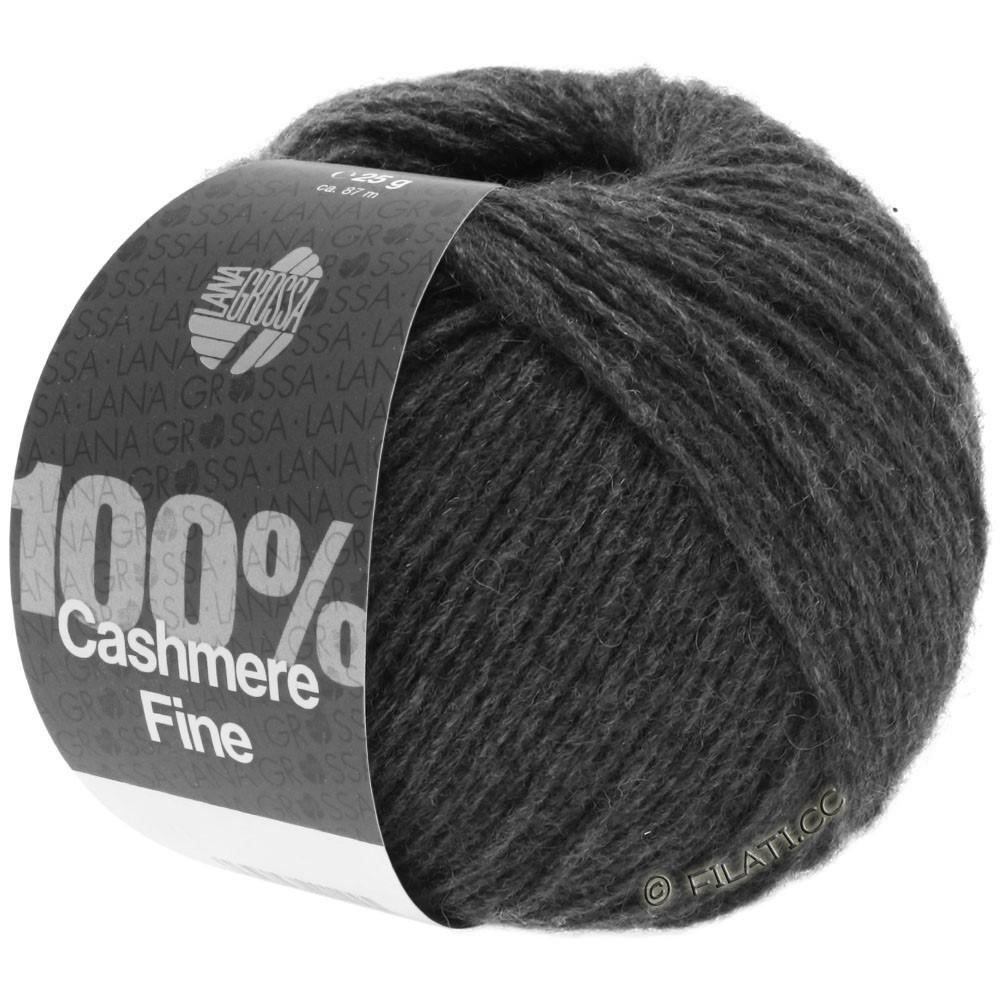 Lana Grossa 100% Cashmere Fine   21-Anthrazit