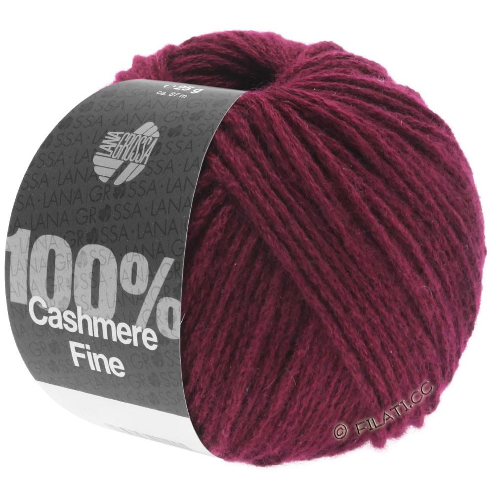 Lana Grossa 100% Cashmere Fine   24-Burgund
