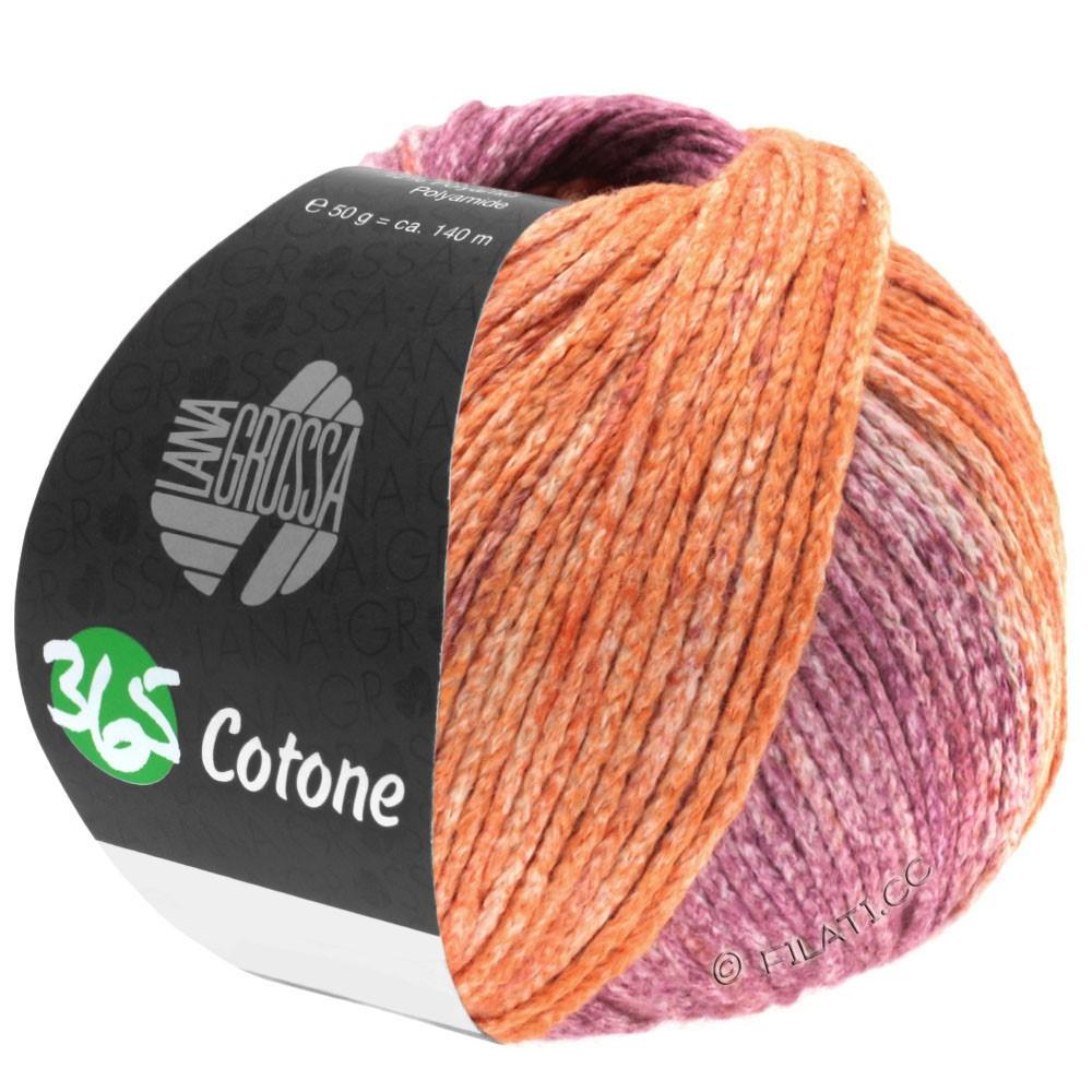Lana Grossa 365 COTONE Degradé | 108-Pfirsich/Terra/Violett