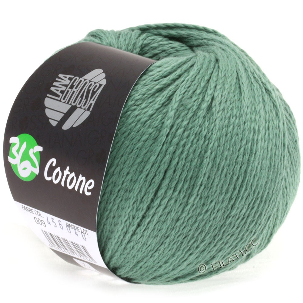 Lana Grossa 365 COTONE | 09-Graugrün