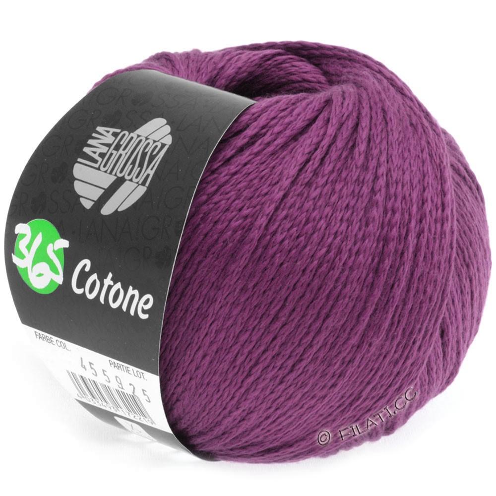 Lana Grossa 365 COTONE | 12-Rotviolett