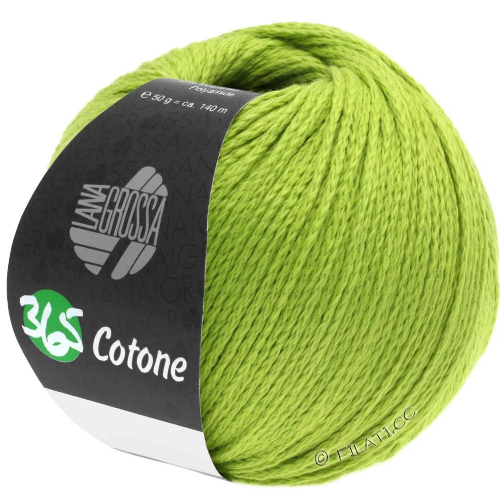 Lana Grossa 365 COTONE | 38-Gelbgrün