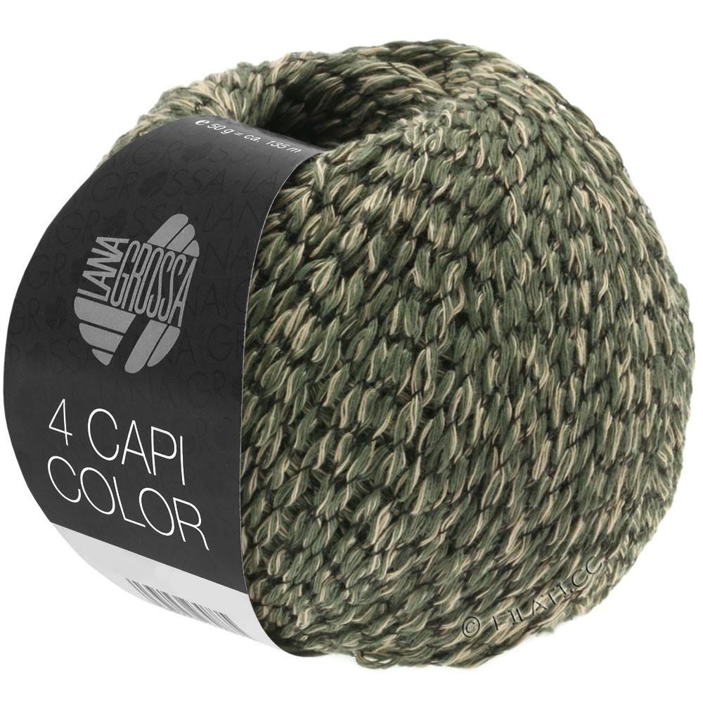 Lana Grossa 4 CAPI Color | 103-Sand/Jägergrün