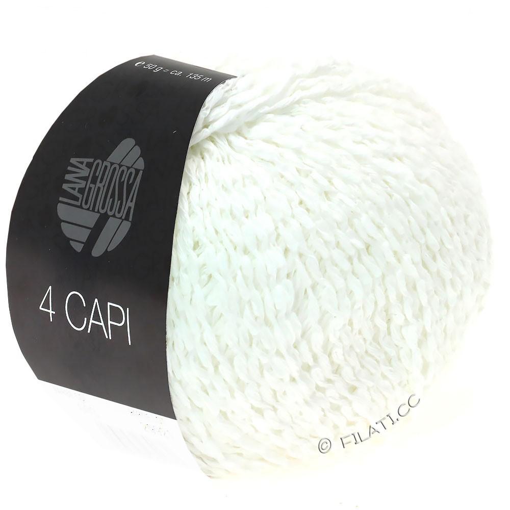 Lana Grossa 4 CAPI | 11-Weiß