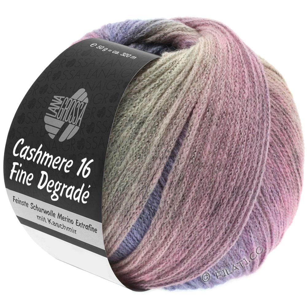 110 grün//braun 50 g Wolle Kreativ Lana Grossa Alta Moda Cashmere 16 Degradé Fb