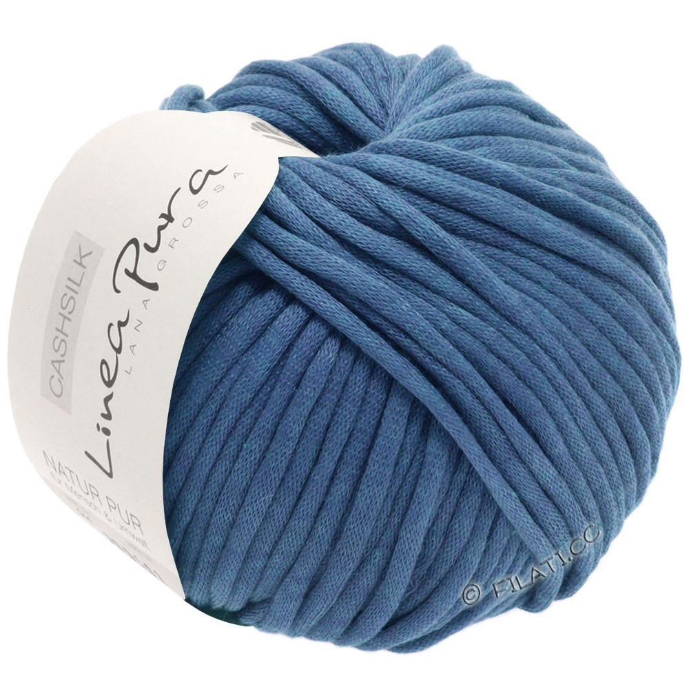 Lana Grossa CASHSILK (Linea Pura) | 52-Stahlblau