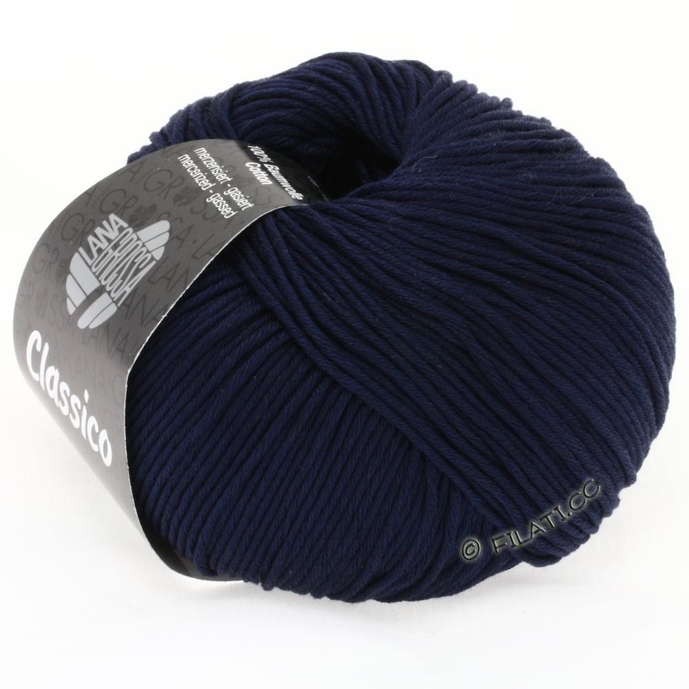 Lana Grossa CLASSICO Uni | 16-Nachtblau