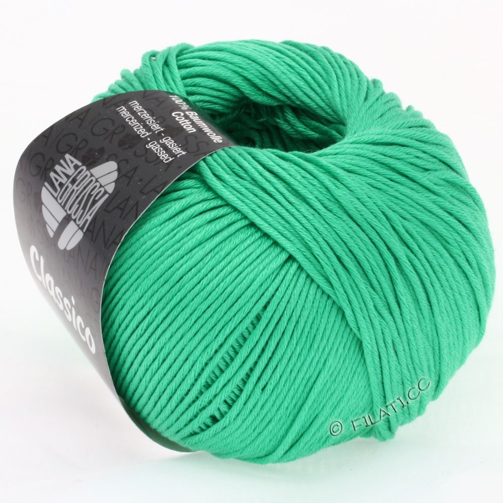 Lana Grossa CLASSICO Uni | 25-Smaragd