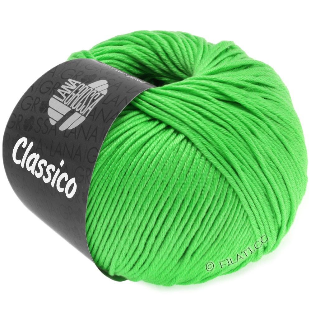Lana Grossa CLASSICO Uni | 44-Leuchtendgrün
