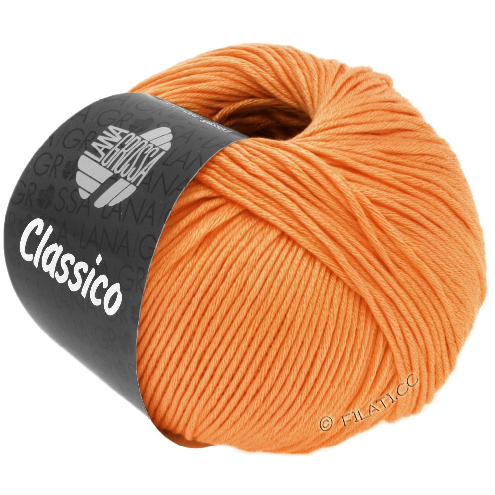 Lana Grossa CLASSICO Uni | 47-Orange
