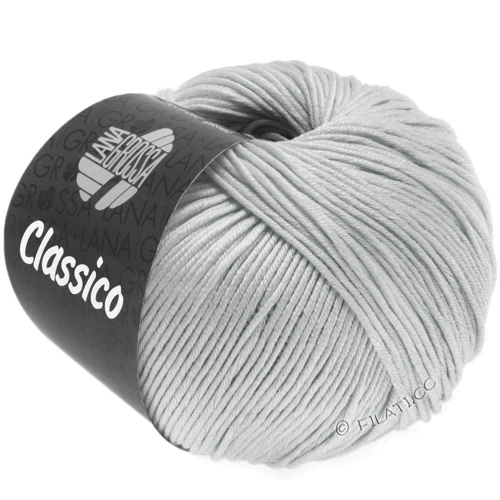 Lana Grossa CLASSICO Uni | 57-Silbergrau