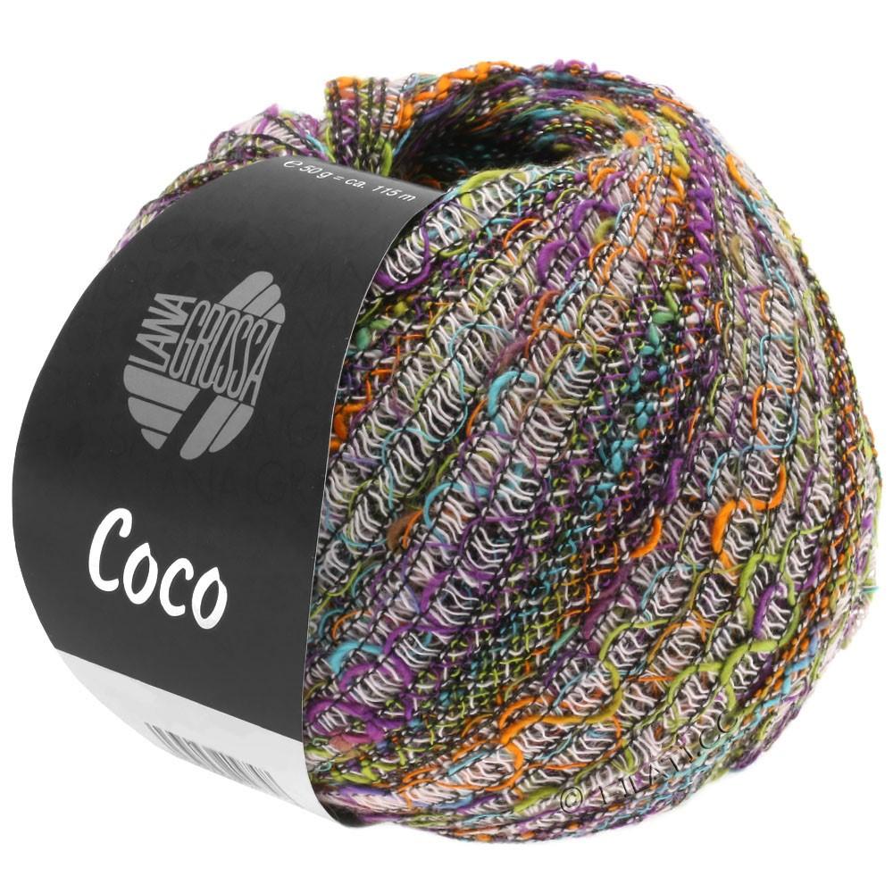 Lana Grossa COCO | 10-Rosa/Violett/Pistazie/Orange/Türkis