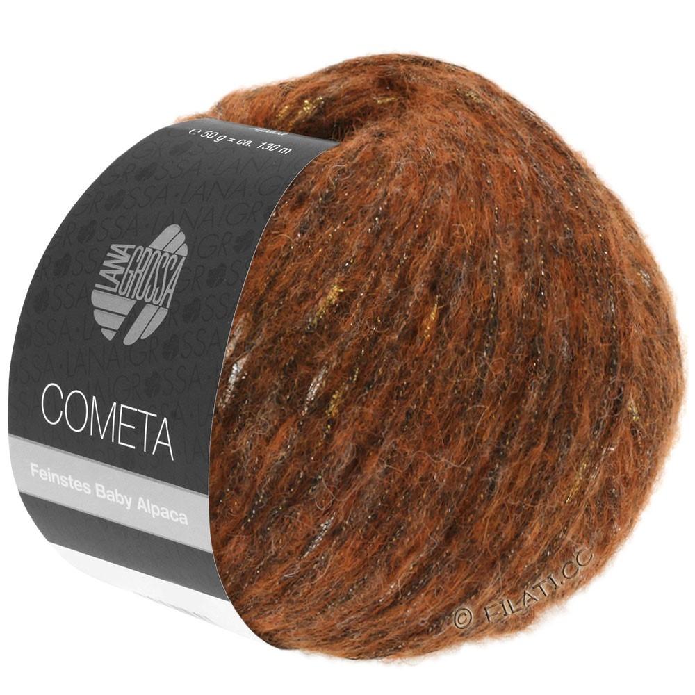 Lana Grossa COMETA | 004-Kupfer/Gold/Silber