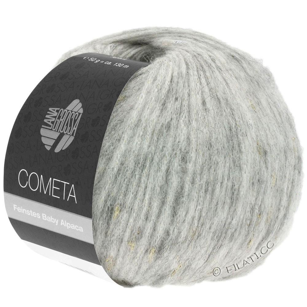 Lana Grossa COMETA | 008-Silbergrau/Gold/Silber