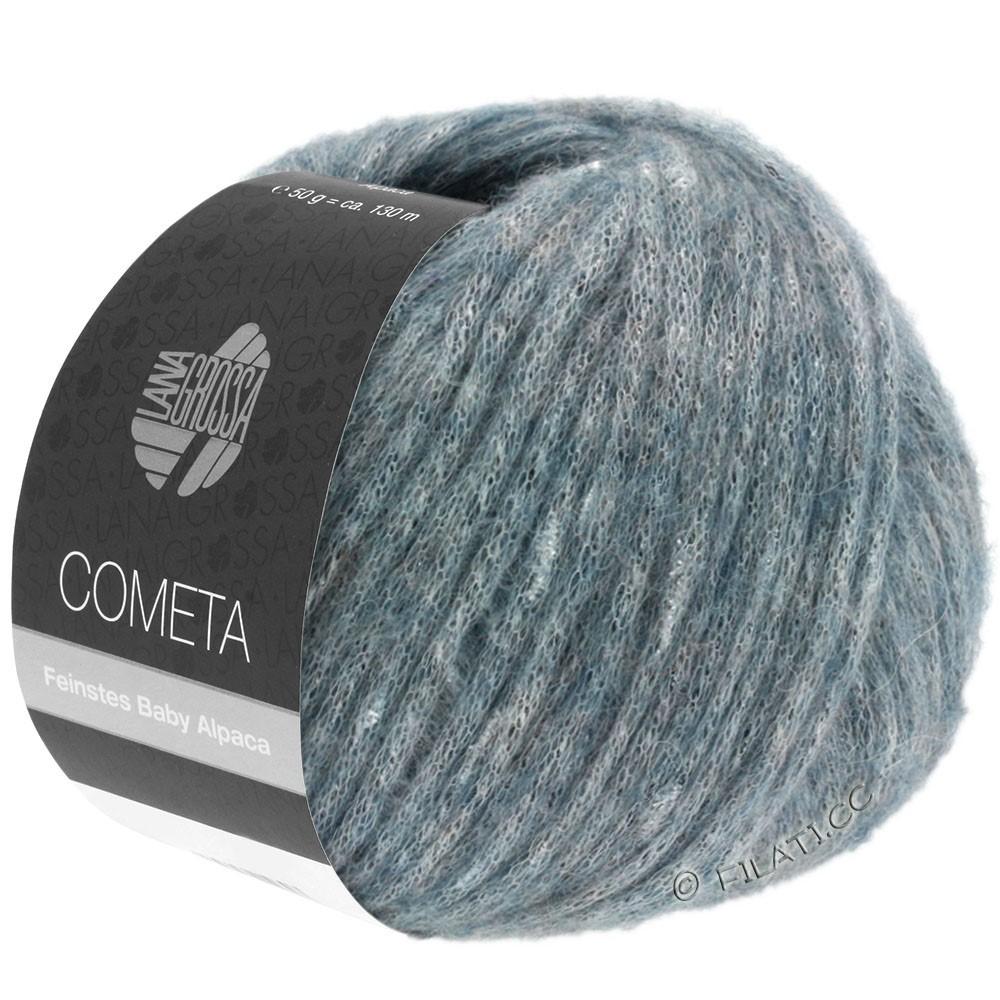 Lana Grossa COMETA | 010-Graublau/Silber