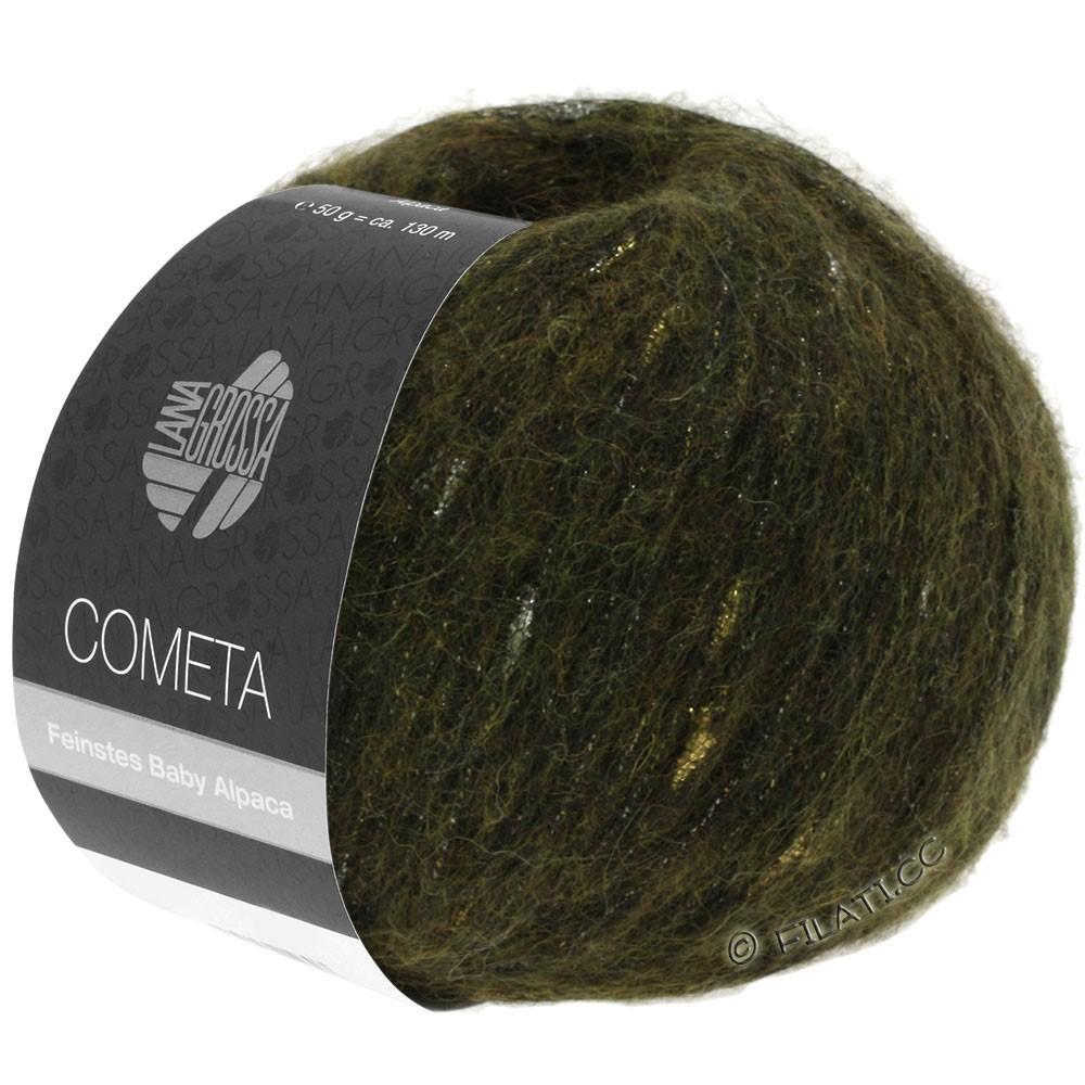 Lana Grossa COMETA | 013-Khaki/Gold/Silber