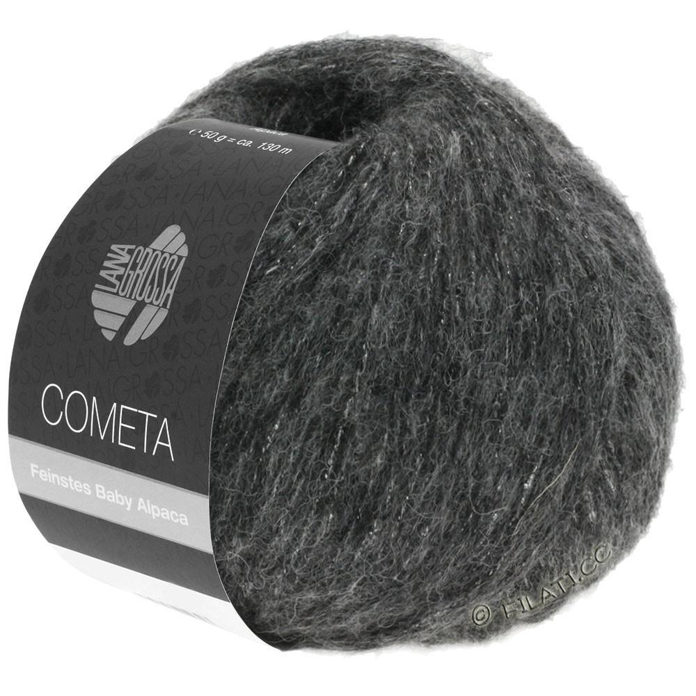 Lana Grossa COMETA | 014-Dunkelgrau/Silber