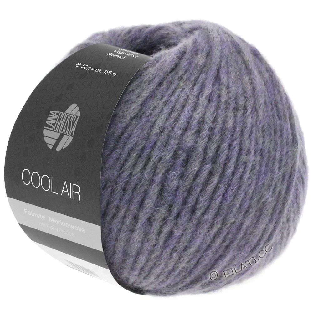 Lana Grossa COOL AIR | 09-Pflaumenblau