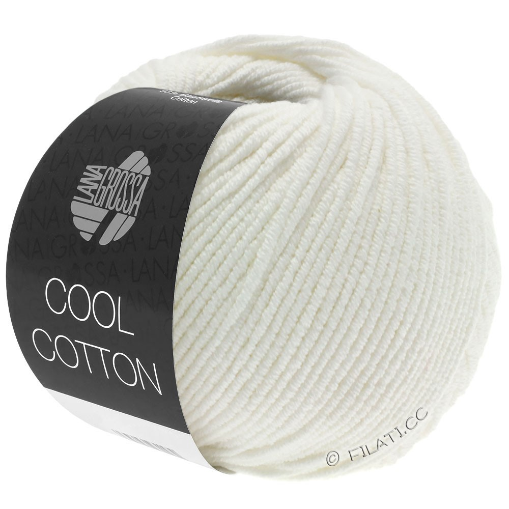 Lana Grossa COOL COTTON | 02-Rohweiß