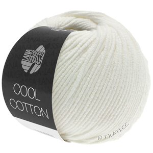 Lana Grossa COOL COTTON | 02-Rohweiß