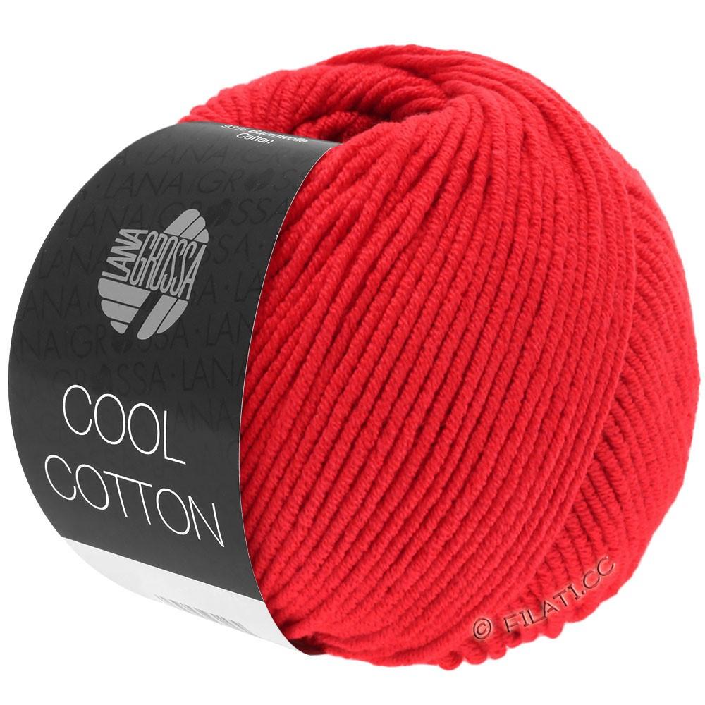 Lana Grossa COOL COTTON | 08-Signalrot