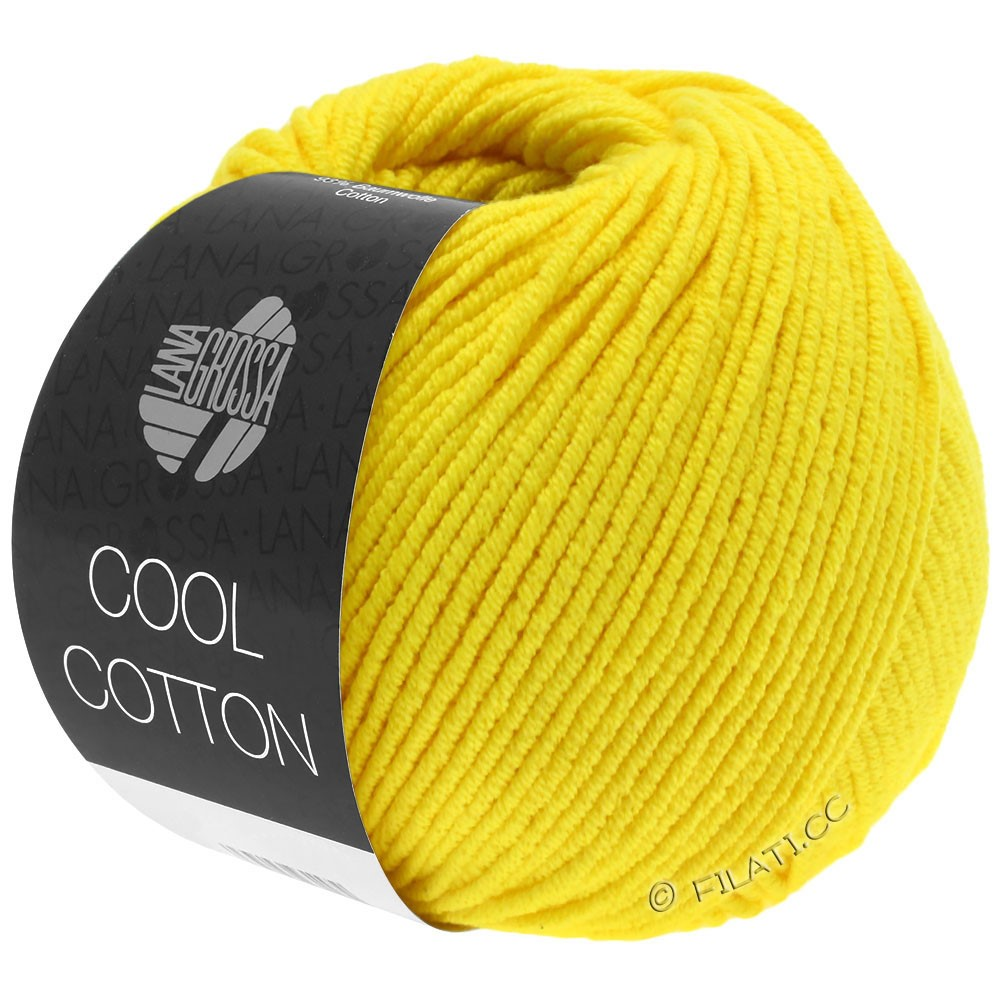 Lana Grossa COOL COTTON | 10-Gelb